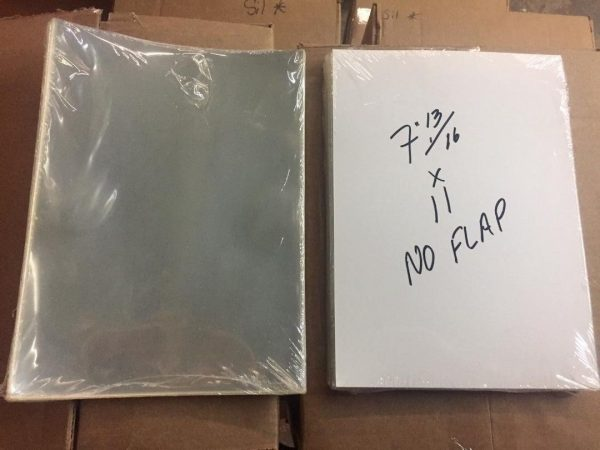 50 E  Gerber Mylar Archives 4 Mil Thick Comic Book Bags sleeves (7 13/16